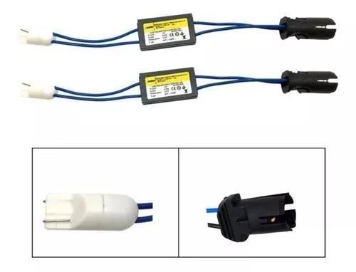 Par resistor canbus canceller soquete t10 ônix led frete 10