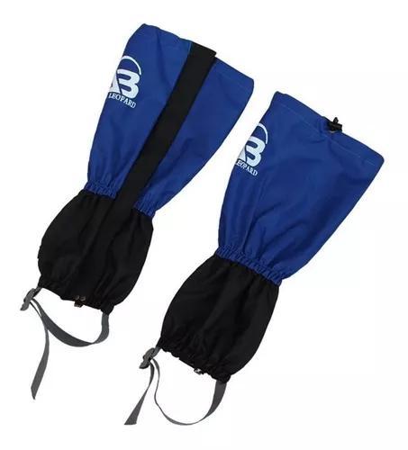 Polaina p/ proteção trekking impermeável - azul marinho
