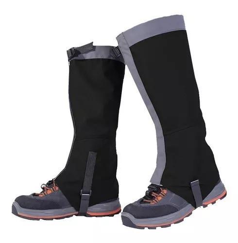 Polaina proteção trekking impermeável - preta - m