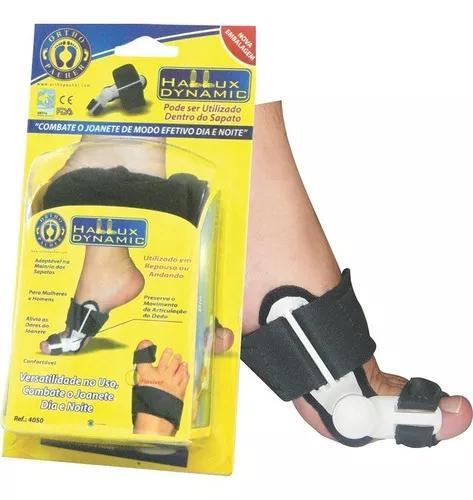 Protetor para joanete hallux dynamic 4050 orthopauher preto