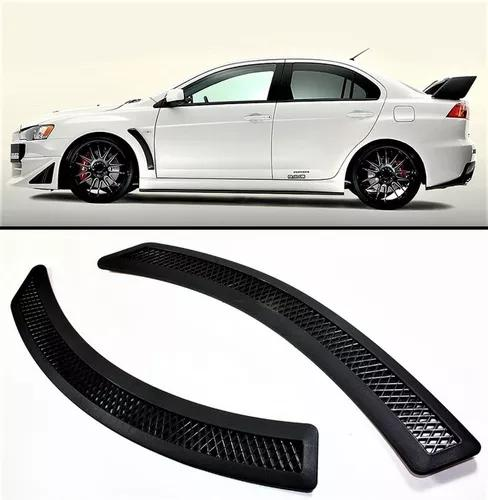 Side fender mitsubishi lancer preto fosco lc0045 02pçs