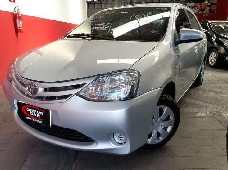 Toyota etios xs 1.5 flex 16v 5p mec.