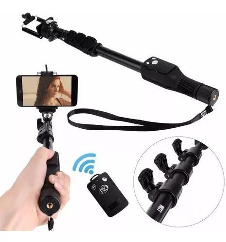 Bastão pau selfie yunteng yt-1288 monopod controle espelho