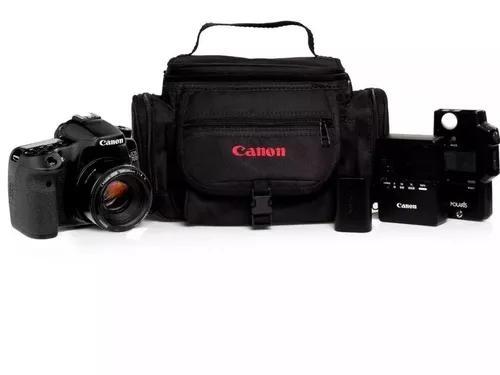 Bolsa canon para camera lentes e acessorios pronta entrega