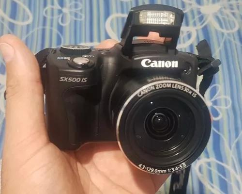 Camera canon sx500 is s
