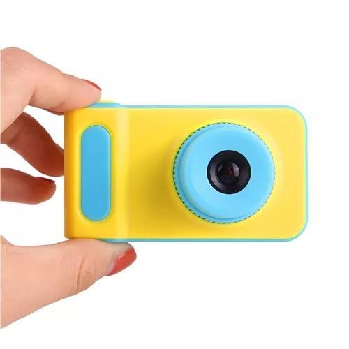 Camera digital criança infantil portatil lcd kids foto
