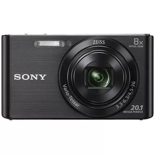 Camera digital sony w830 cyber shot preta