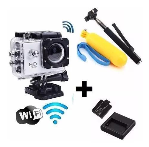 Camera fotografica filma e fotografa aprova dagua +