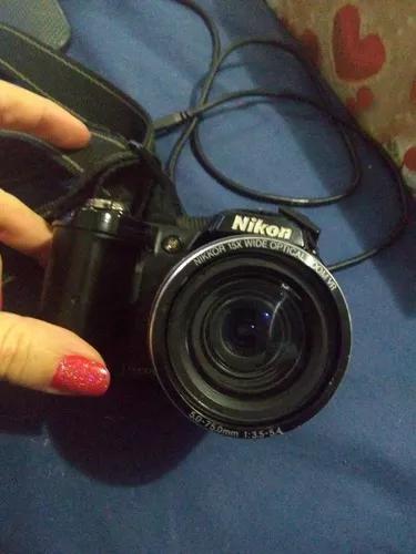 Camera fotografica nikon coolpix l110 sp para retirar peças