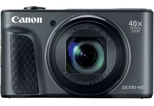 Camera powershot canon sx730hs 20.3mp 40x - black