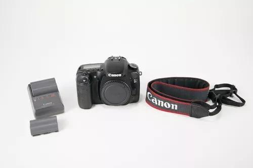 Camera profissional digital canon eos 30d - só corpo