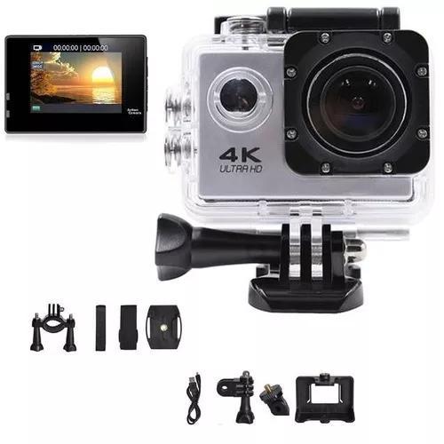 Camera wifi 4k foto video prova d agua esporte ultra hd 16mp