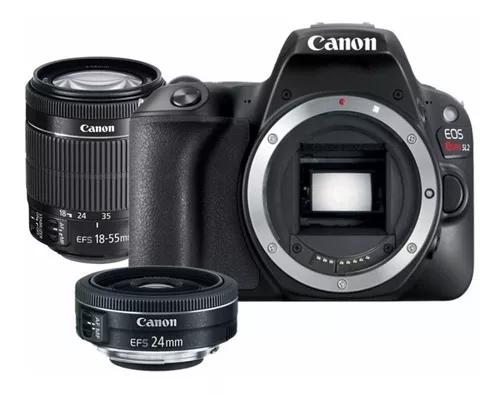 Canon eos rebel sl2 nf-e ef-s 18-55mm stm is + ef-s 24mm