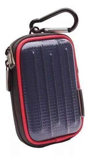 Case bolsa máquina fotográfica digital samsung sony canon