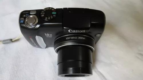 Câmera canon powershot sx120is zoom óptico 10x frete