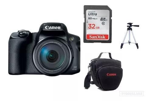 Câmera canon poweshot sx70hs 65xzoom