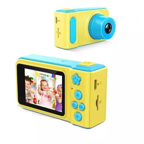 Câmera digital fotografica hd kids criança selfie infantil