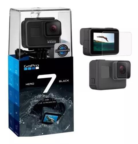 Câmera digital gopro hero 7 black+ pelicula de protecao