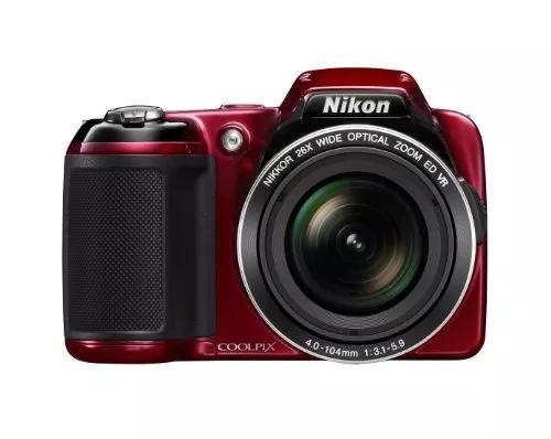 Câmera digital nikon coolpix l810 de 16,1 mp com lente vidr