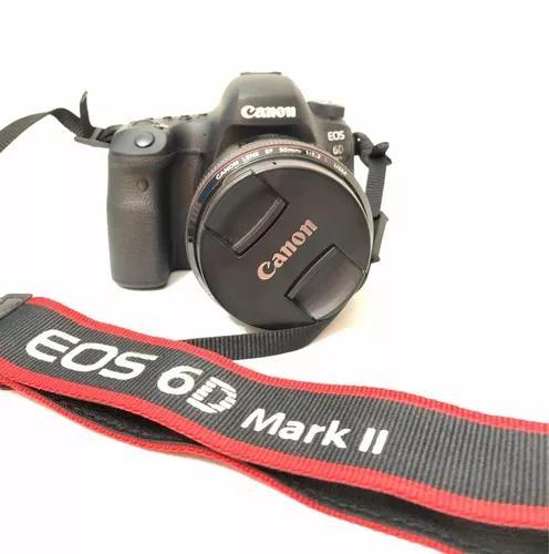 Câmera fotográfica canon eos 6d mark ii - somente corpo
