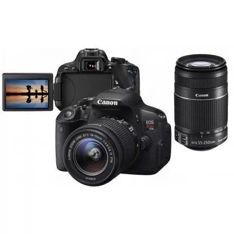 Câmera fotográfica canon rebel t5i s