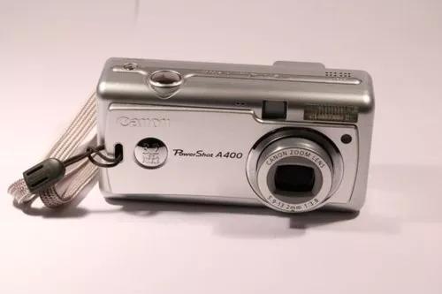 Câmera fotográfica digital canon power shot a400 com