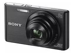Câmera sony 20.1 mp w830 com zoom óptico 8x novo lacrado