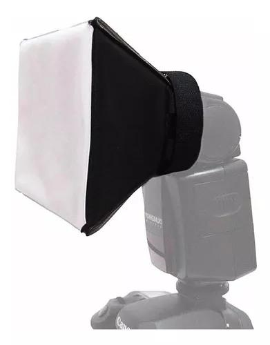 Difusor universal de flash mini softbox pixco nikon canon