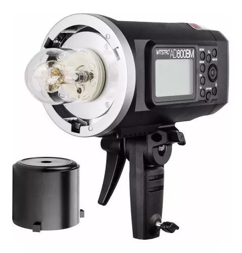 Flash a bateria godox witstro ad600 bm bowens
