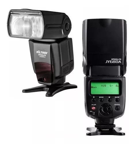 Flash canon speedlight jy680a viltrox