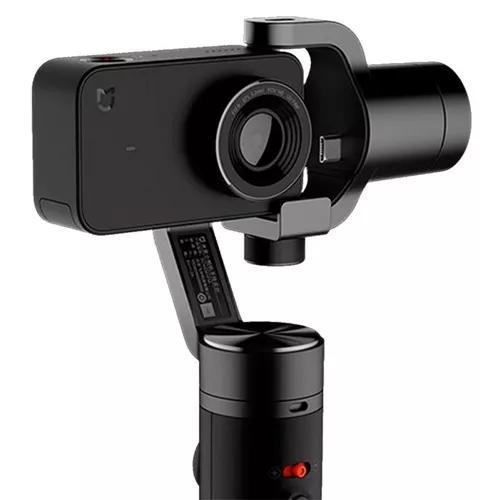 Kit camera + gimbal xiaomi mi cam 4k + mi handheld + nfe