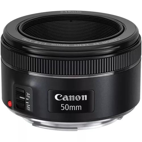 Lente canon 50mm f/1.8 stm autofoco orig envio imediato nfe