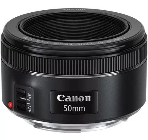 Lente canon 50mm f/1.8 stm autofoco original envio imediato
