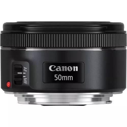Lente canon ef 50mm f/ 1.8 stm