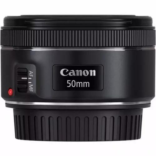 Lente canon ef 50mm f/1.8 stm auto-foco c/ nota fiscal