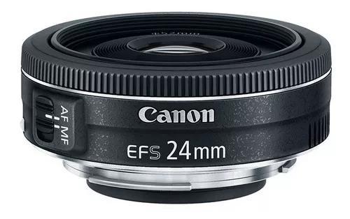 Lente canon ef-s 24mm f/2.8 stm garantia canon oficial nf-e