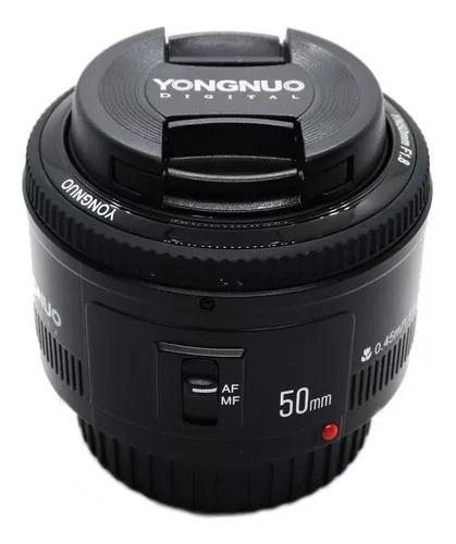 Lente ef 50mm f1.8 yongnuo para canon original