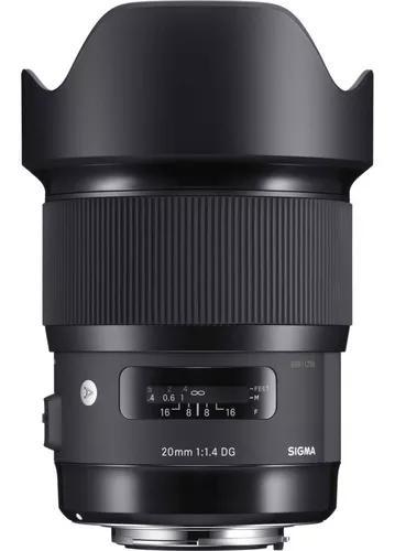 Lente sigma 35mm f/1.4 dg hsm série art autofoco nikon nfe