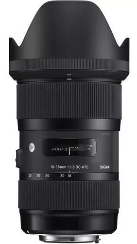 Lente sigma art 18-35mm f/1.8 dc hsm para nikon c/ garantia