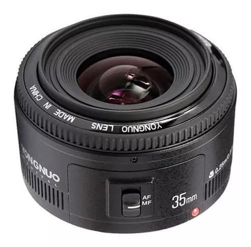 Lente yongnuo yn 35mm f / 2 para canon