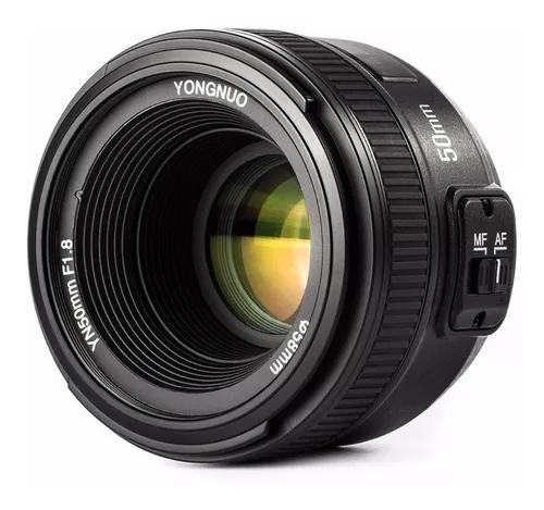 Lente yongnuo yn 50mm f1.8 nikon af-s possui motor de foco