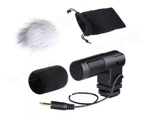 Microfone boya by-v01 direcional p/ cameras e smart phones