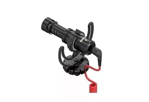 Microfone rode videomicro direcional p/ camera e filmadora