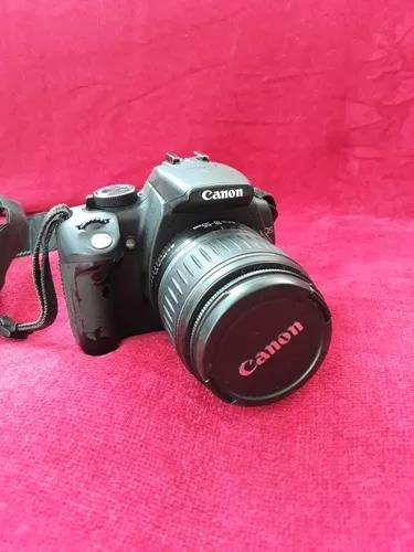 Máquina fotográfica digital canon rebel xt 18-55