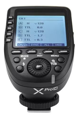 Radio flash godox canon x pro c (ttl/multi)