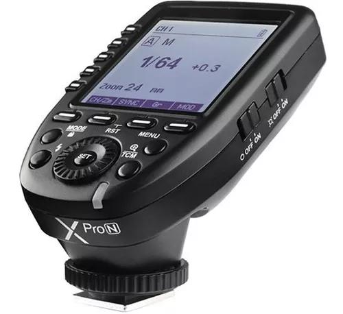 Radio flash godox nikon x pro n (ttl/multi)