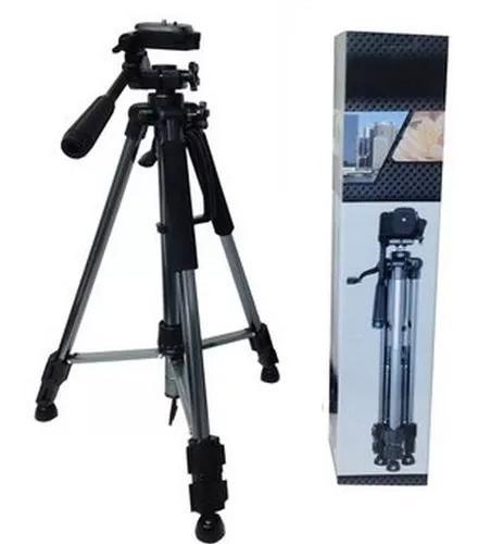 Tripé filmadora fotográfica profissional canon sony 1,50