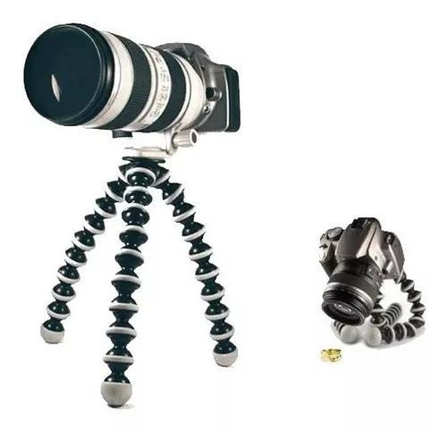 Tripé gorilla gorillapod p/ câmeras pesadas aguenta até