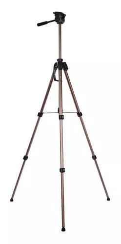 Tripé p/ câmera canon/ nikon/ sony alúminio robusto wf