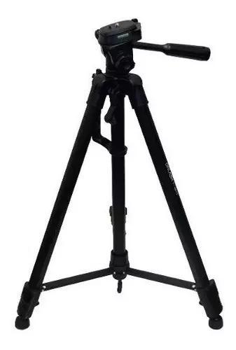 Tripé telescópico pedestal profissional 1,80 mt camera